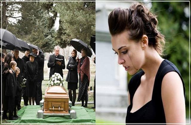 बोल्ड ड्रैस पहन दादा के Funeral पर पहुंची पोती, भड़के यूजर्स ने कहा