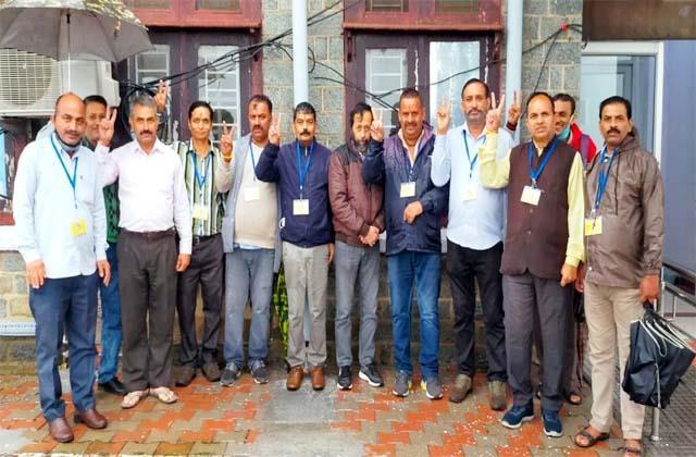 lion panel won the election of cri employees union