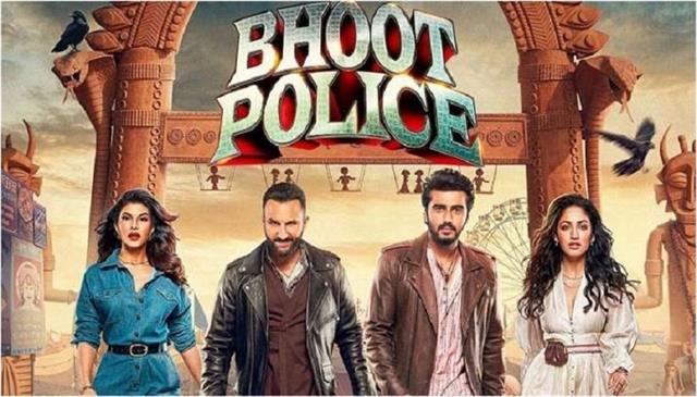 saif ali khan and arjun kapoors film bhoot police review