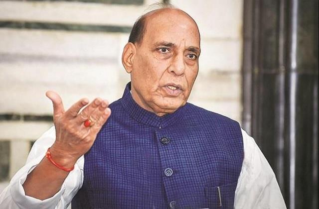 rajnath praises chief minister yogi