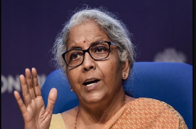 nirmala sitharaman said  the trio of  jan dhan aadhaar mobile  turned the dice
