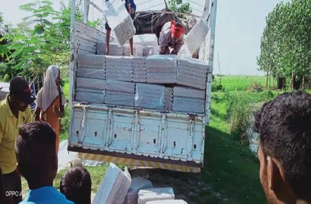 liquor smuggling increased before panchayat elections