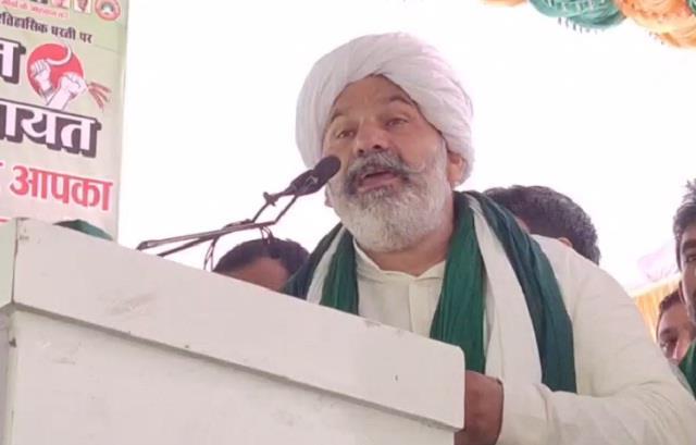 rakesh tikait said keep tractor ready farmers may need it anytime