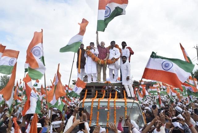 aap made election conch shell with tiranga yatra in ayodhya sisodia said