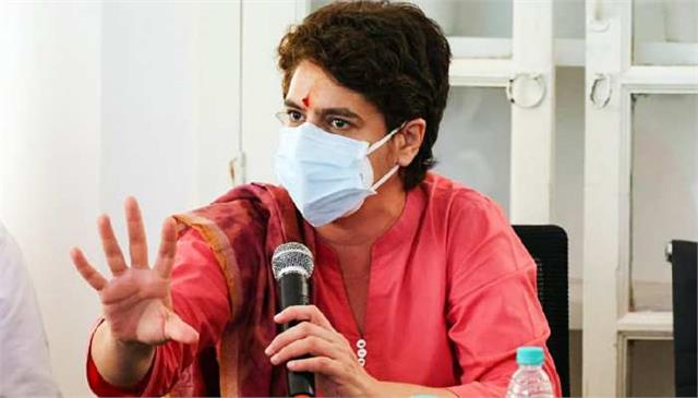 priyanka targeted bjp said  women do not expect justice from yogi government