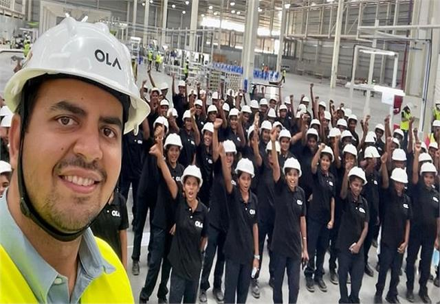ola electric becomes the first company in the world to do so