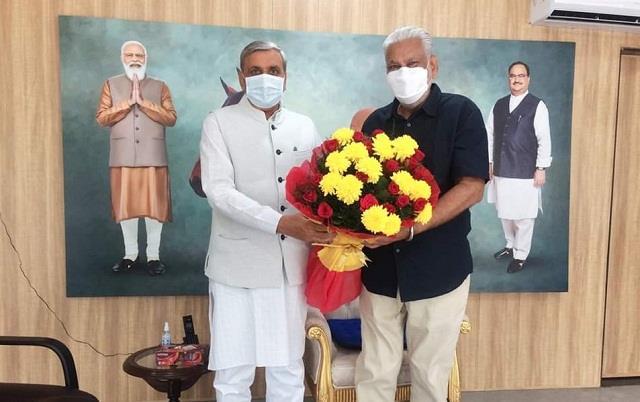 jp dalal meets union animal husbandry and dairying minister purushottam rupala
