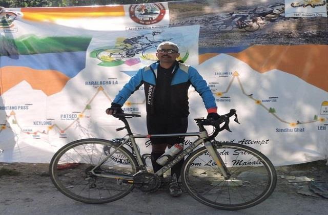 colonel shripad made guinness world record
