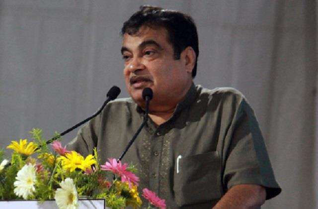 nitin gadkari bluntly said  people will have to pay toll tax for good roads