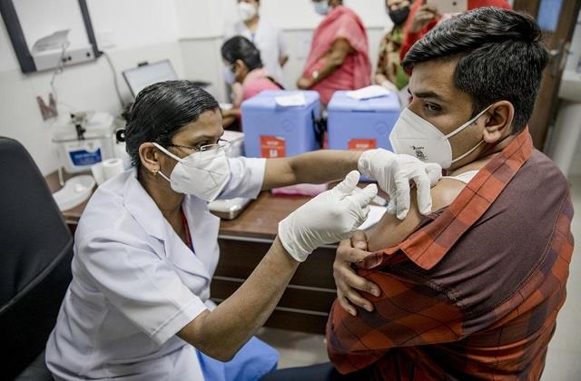 so far 876 million vaccine doses have been administered in the country