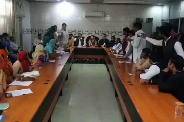 PunjabKesari, haryana, nagar parishad meeting, bahadurgarh