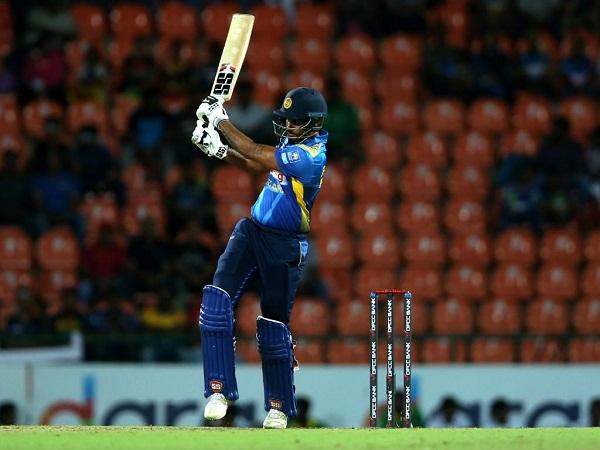 Danushka Gunathilaka's century in third ODI against Pakistan