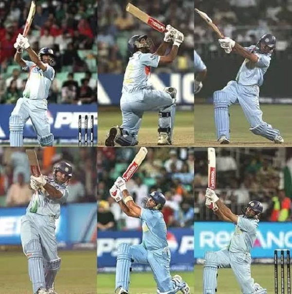 Yuvraj remembered in a special way, 6 sixes off 6 balls in the World Cup