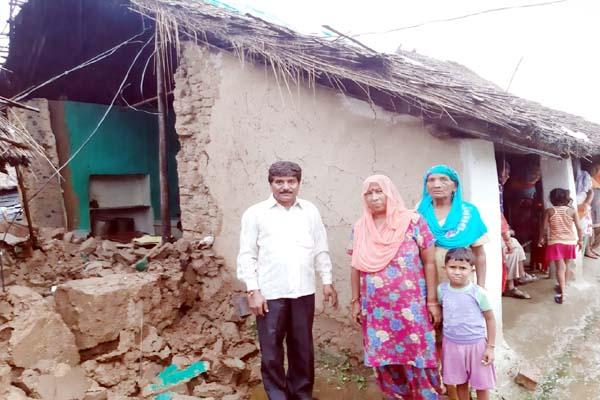 PunjabKesari, Destroy House Image