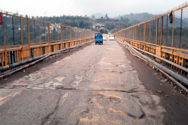 PunjabKesari, Kandror Bridge Image