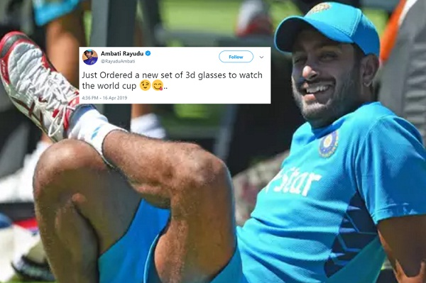 Rayudu on his '3D' comment: 'I don't regret anything'