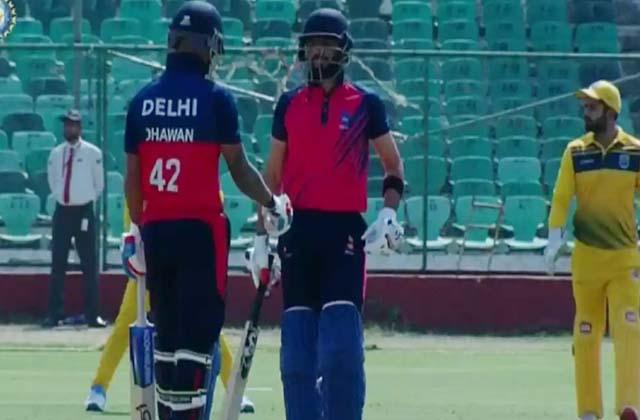 Shikhar Dhawan, Vijay Hazare Trophy, Delhi vs Maharashtra, विजय हजारे ट्रॉफी, दिल्ली vs महाराष्ट्र, Vijay Hazare Trophy 2020, Cricket news in hindi, sports news,