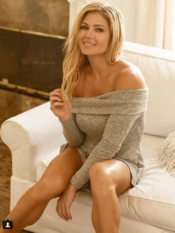 Torrie Wilson has blasted an ex-boyfriend after discovering he cheated on her