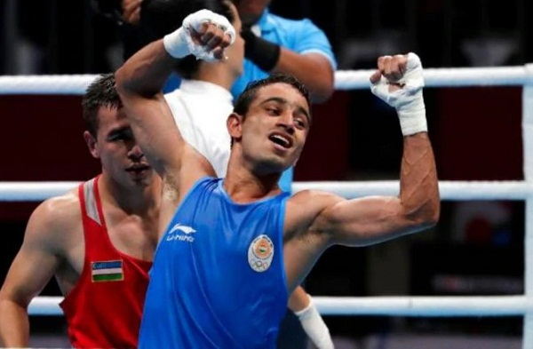Amit Panghal won silver medal in world Boxing championship