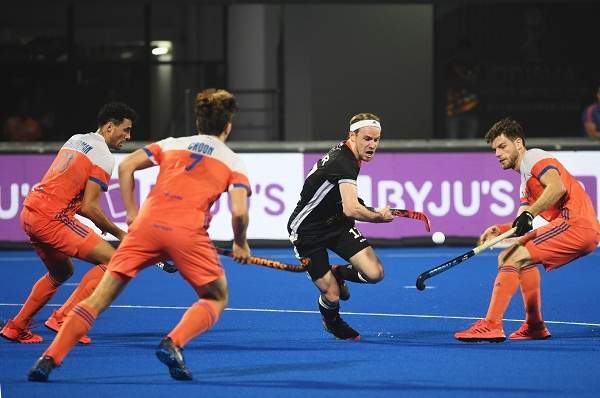 Hockey world cup : Germany beat netherland by 4-1