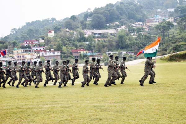 PunjabKesari, Military Practice Image
