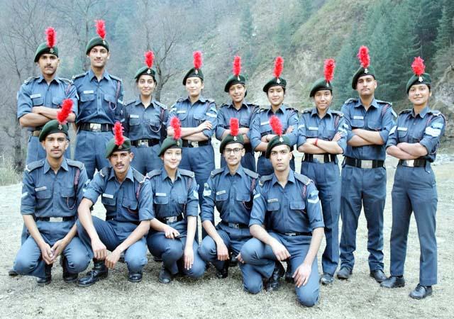 PunjabKesari, NCC Cadets Image