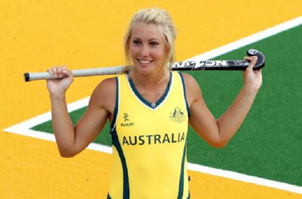 Casey Eastham is the Hottest Field Hockey player of australia
