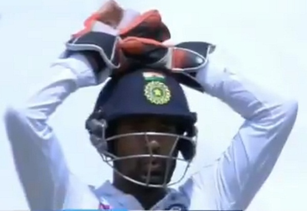 Team India did not appeal, umpire gave OUT, learn interesting developments