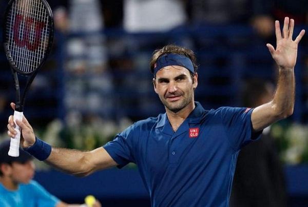 Roger Federer wins 100th ATP title