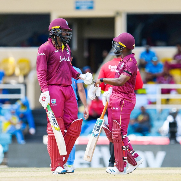 Chris Gayle Smash Brilliant Innings against india in 3rd ODI