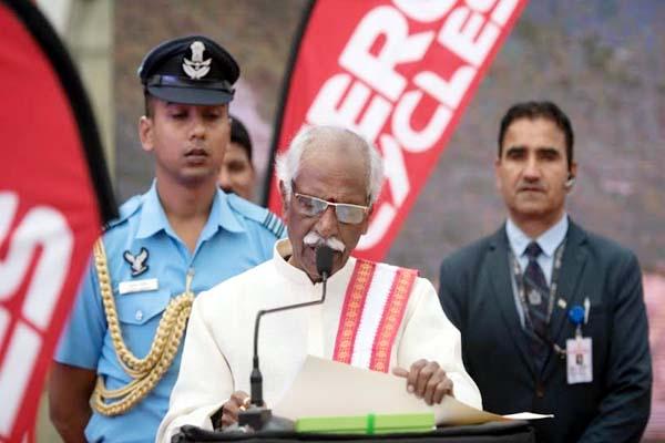PunjabKesari, Governor Bandaru Dattatreya Image