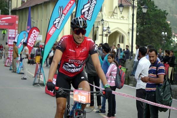 PunjabKesari, MTB Himalaya Cycle Rally Image