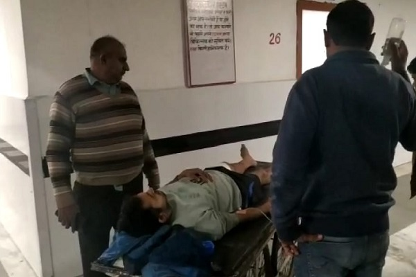 PunjabKesari, police, riot, shoot, murder