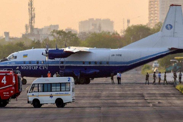 fourth cargo plane landed at ahmedabad airport india ready to welcome trump