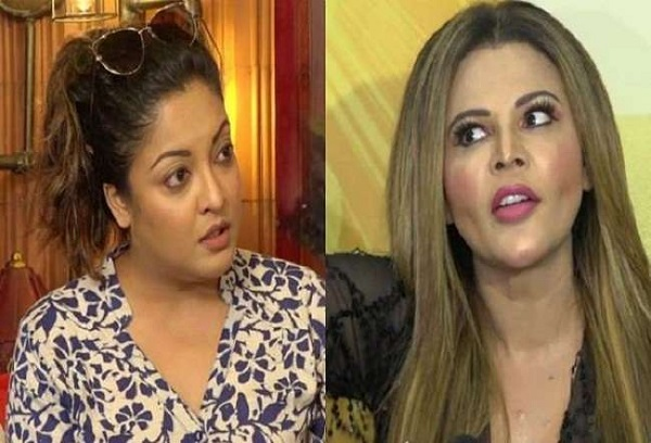 rakhi sawant and tanushree dutta image