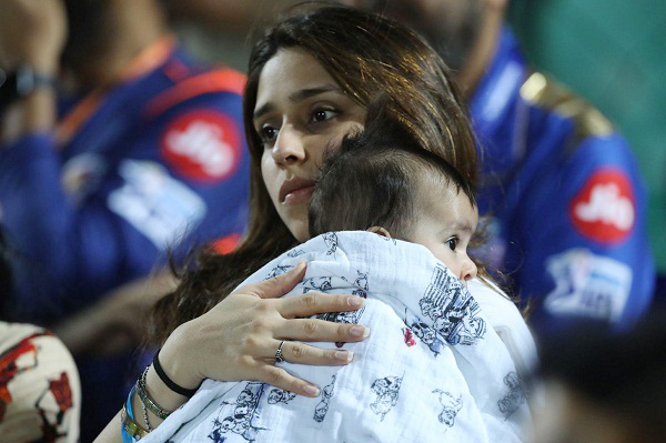 Rohit sharma wife photo, Ritika Sajdeh, rohit sharma daughter photo, Samaira Sharma