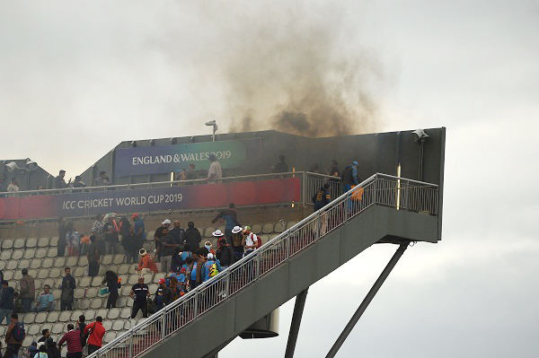 IND v NZ : Team India loses sight of fire at the stadium, probe begins
