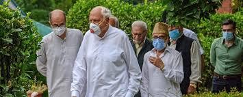 gupkar alliance condemns nia raid on greater kashmir ngo in jammu kashmir
