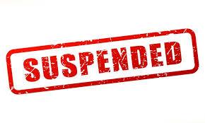 sho vijapur suspend by dig