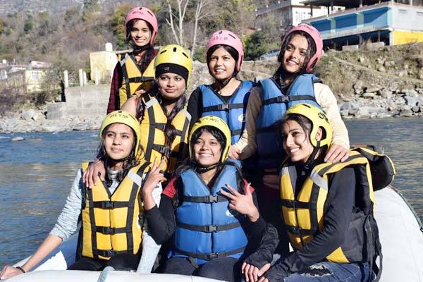 PunjabKesari, River Rafting Image