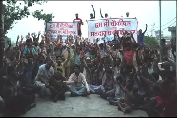 PunjabKesari, rural, devlopment, boycott, loksabha, Election