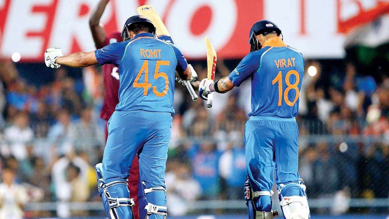 Rohit & Kohli make 2nd Most partnership runs for India