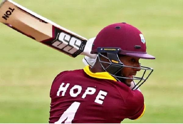 AFG v WI : Shai Hope sets world record for West Indies