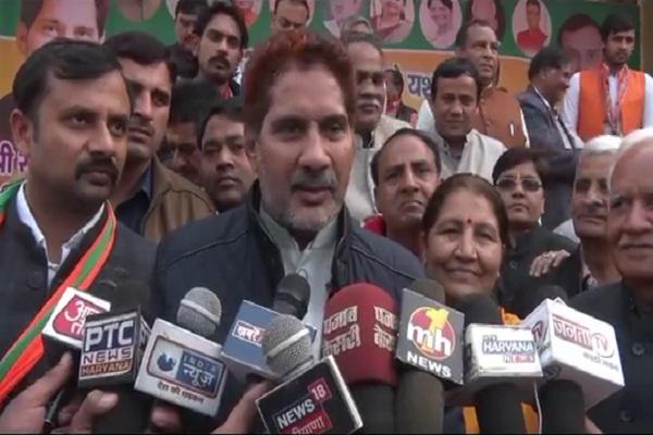 PunjabKesari, virender sehwag, subhash barala, lok sabha, election