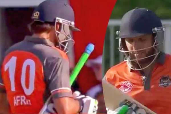 Shahid Afridi complete century of Duck in competitive cricket
