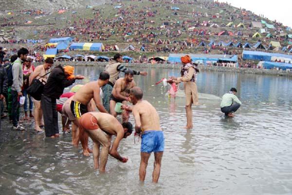 PunjabKesari, Holy Bath Image