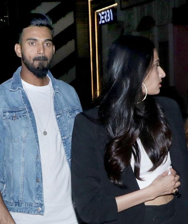 KL Rahul again seen with Athiya Shetty on dinner date