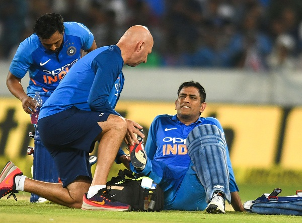 Indian win98% match when dhoni remain not out in ODI match