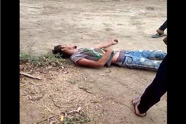 PunjabKesari, dalit, youth, viral, video