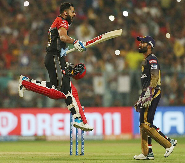 IPL 2019 : Virat Kohli smash 5th Century of IPL Career
